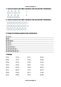 Multiplication table grade 3 easy practice-thumbnail