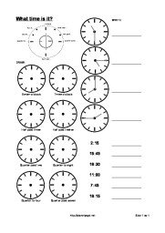 Learn the clock – o\'clock, half and quarter – Planet Psyd