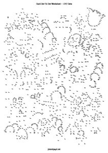 hard dot to dot village 1257 dots A4 PDF pdf image 212x300