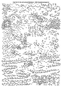 extreme hard dot to dot animals 2206 dots A4 PDF pdf image 212x300