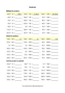 Decimals 10 mult 1 page 212x300